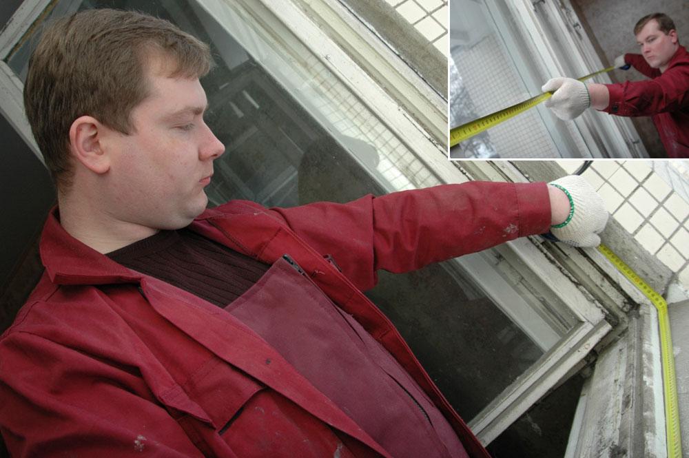 Пошаговый монтаж пластикового окна.